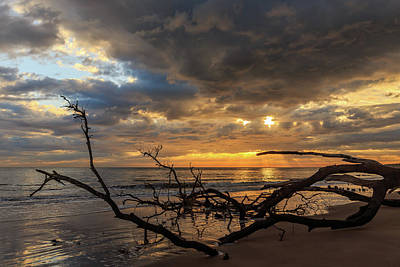 Photograph - Ethereal Light Over Boneyard Beach 3x2 by Stefan Mazzola