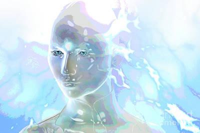 Digital Art - Ethereal Spirit by Shadowlea Is