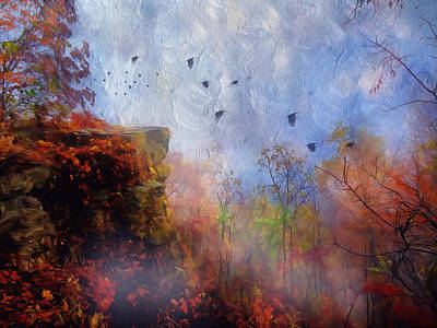 Painting - Ethereal Autumn by Georgiana Romanovna