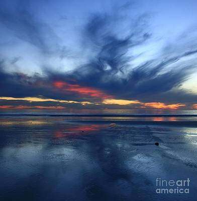 Photograph - Ethereal Blue Sky by John F Tsumas