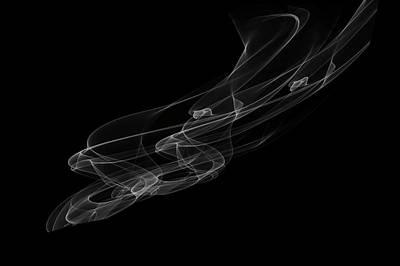 Photograph - Ethereal Bond by Jenny Rainbow