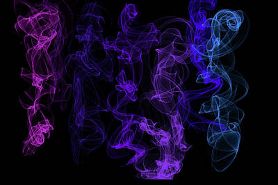 Digital Art - Ethereal Dance 1 by Jenny Rainbow