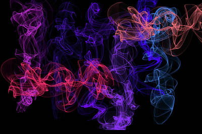 Digital Art - Ethereal Dance 2 by Jenny Rainbow