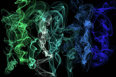 Digital Art - Ethereal Dance 3 by Jenny Rainbow