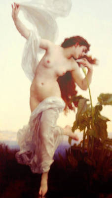 Nude Mixed Media - Ethereal Dance Into Spring Vintage  by Georgiana Romanovna