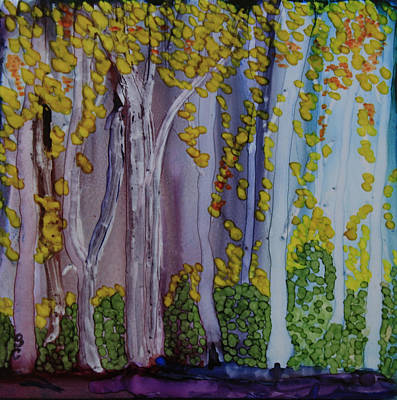 Painting - Ethereal Forest by Suzanne Canner