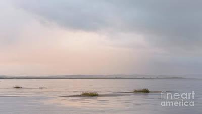 Northumbrian Photograph - Ethereal Light - Holy Island by Tony Higginson
