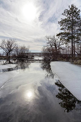Photograph - Ethereal Winter by Penny Meyers