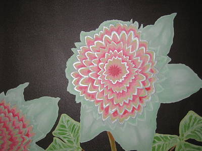 Rocca Painting - Etheric Flowers by Sarah England-Rocca
