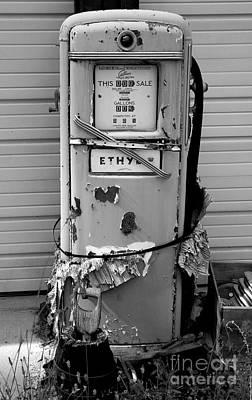 Photograph - Ethyl Pump by Denise Bruchman