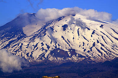 Photograph - Etna Late April by Richard Ortolano