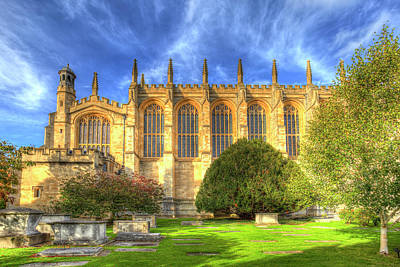 Photograph - Eton College Chapel by David Pyatt
