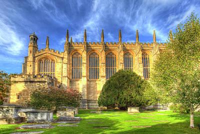 Photograph - Eton College Chapel by David Pyatt