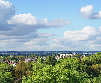 Photograph - Eton College From Windsor Castle by Joe Winkler