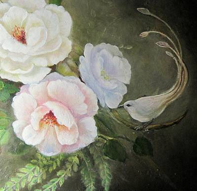 Painting - Etre Fleur  by Patricia Schneider Mitchell