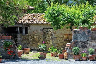 Etruscan Garden Art Print