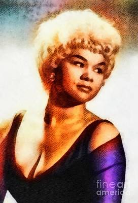 Rock And Roll Paintings - Etta James, Music Legend by John Springfield