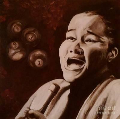 Etta James Painting - Etta James, Wallflower by Eric  Laprade