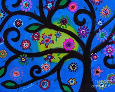 Painting - Etz Chayim by Pristine Cartera Turkus