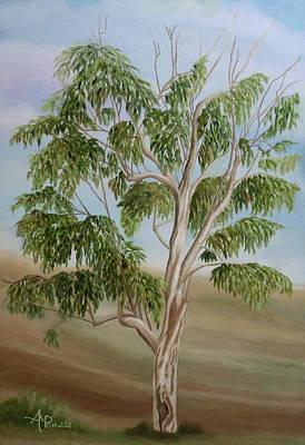 Eucalyptus Art Print by Angeles M Pomata