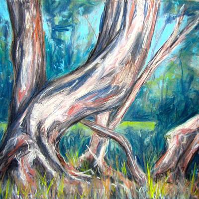 Pastel - Eucalyptus by Barbara O'Toole