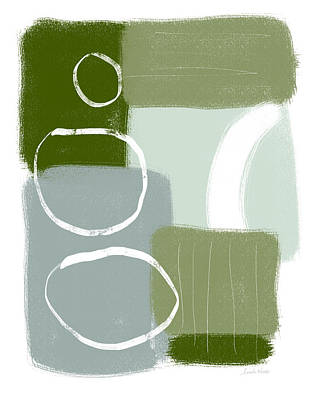 Mixed Media - Eucalyptus Breeze 1- Art By Linda Woods by Linda Woods
