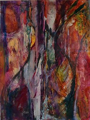 Painting - Eucalyptus by Jillian Goldberg