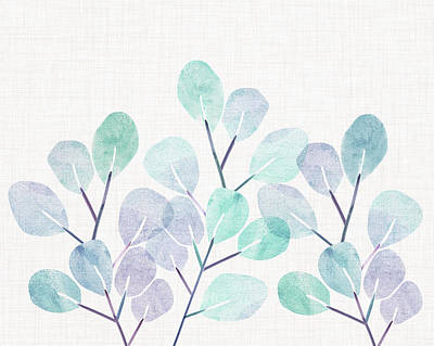 Mixed Media - Eucalyptus by Kristian Gallagher
