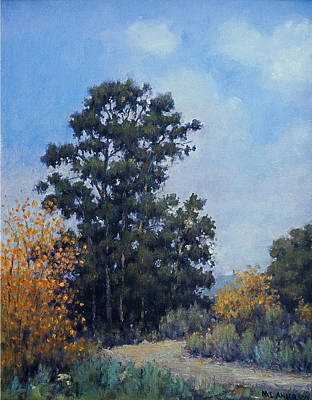 Painting - Eucalyptus by Marv Anderson