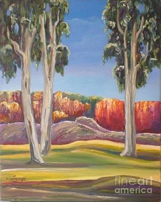 Painting - Eucalyptus by Ushangi Kumelashvili