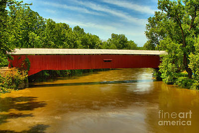 Photograph - Eugene Covered Bridge by Adam Jewell