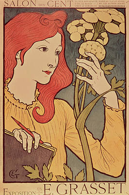 Eugene Grasset Art Print by Salon des Cent
