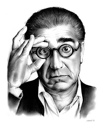 Writer Drawing - Eugene Levy by Greg Joens