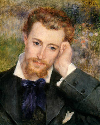Painting - Eugene Murer by Auguste Renoir