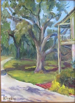 Eugenia Price's Home Art Print by Albert Fendig