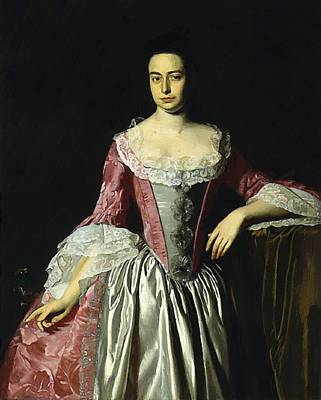 Painting - Eunice Dennie Burr 1760 by Copley John Singleton