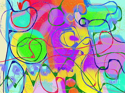 Digital Art - Euphoria by Chani Demuijlder