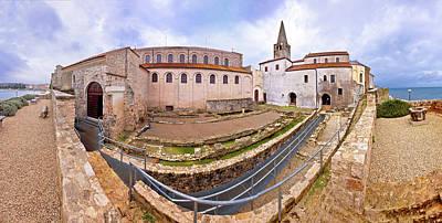 Photograph - Euphrasian Basilica In Porec Artefacts And Euphrasian Basilica V by Brch Photography
