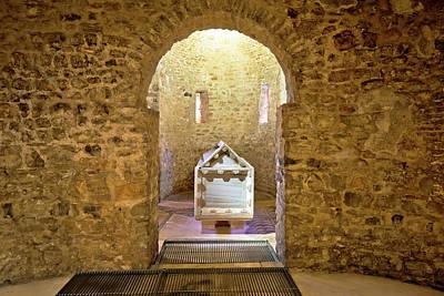 Photograph - Euphrasian Basilica In Porec Sarcophagus View by Brch Photography