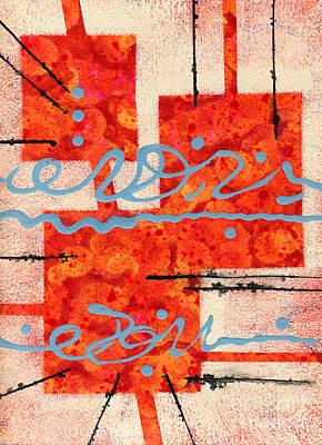 Mixed Media - Eureka by Cyndi Lavin