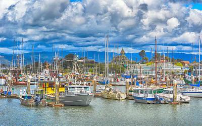 Photograph - Eureka Harbor by AJ Schibig