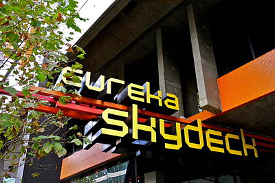 Photograph - Eureka Skydeck In Melbourne by Kirsten Giving