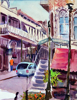 Eureka Springs Ak 2 Art Print by Ron Stephens