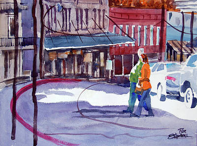 Eureka Springs Ak 3 Art Print by Ron Stephens