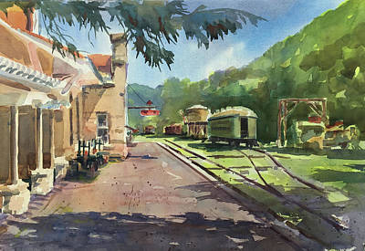 Eureka Springs Station Art Print by Spencer Meagher