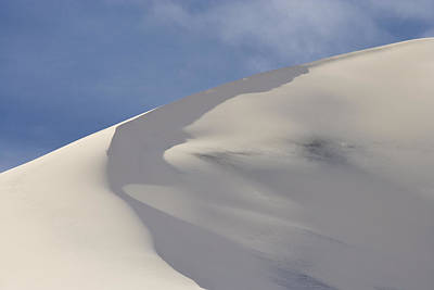 Nature Photograph - Eureka Valley Sand Dune Death Valley  by Ed Book