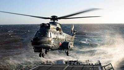 Puma Photograph - Eurocopter Ch-32 by Emma Brown