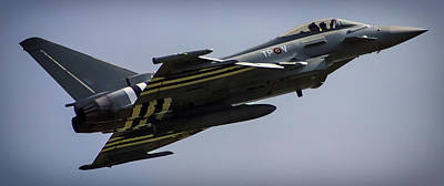 Iraq Photograph - Eurofighter by Martin Newman