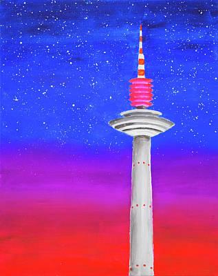 Painting - Europaturm by Iryna Goodall