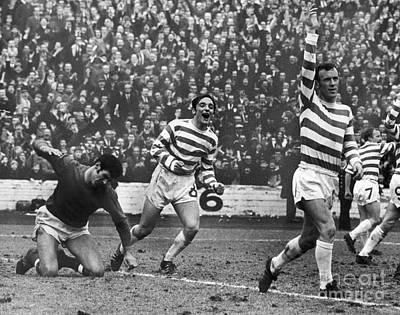 Goalkeeper Photograph - European Cup, 1970 by Granger